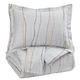 Bevan 3pc King Comforter Set in Multi Q330003K