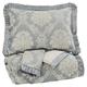 Joisse 3pc King Comforter Set in Sage Q332003K