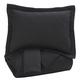 Aldis 3pc Queen Coverlet Set in Black Q739013Q