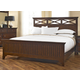 Broyhill Crossroads Cal King Panel Bed in Cherry SALE