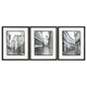 Dorcas 3pc Wall Art Set in Black/White A8000194
