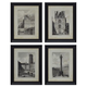 Dolph 4pc Wall Art Set in Black/White A8000195