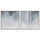 Dyan 2pc Wall Art Set in Blue/White A8000197
