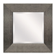 Duka Accent Mirror in Silver A8010080