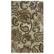 Jamelia Large Rug in Green/Cream R400751