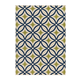 Solfest Medium Rug in Blue/Green R402172