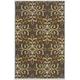 Savery Medium Rug in Brown/Gold R402222