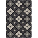 Asho Large Rug in Black/Cream R402391