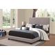 Coaster Upholstered Full Bed 350071F