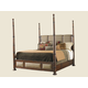 Tommy Bahama Home Landara Monarch Bay Poster Queen Bed in Rich Tobacco Finish 01-0545-173CQ