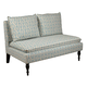 Pulaski Banquette Upholstered - Pattern Blue DS-2282-400