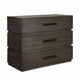 Durham Furniture Modern Simplicity Bachelor's Chest in Dusk 167-166