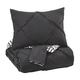 Jaylee Queen Comforter Set in Black Q348003Q