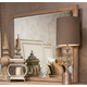 AICO Tangier Coast Wall Mirror in Desert Sand 9080260-100 CLOSEOUT