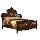 AICO Palais Royale Queen Panel Bed in Cognac 71000QN-35
