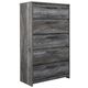 Baystorm 5 Drawer Chest in Gray B221-46