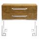 Bernhardt Soho Luxe 2 Drawer Nightstand in Dark Caramel 368-216