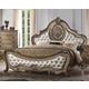 Acme Ragenardus Queen Bed in Vintage Oak 26310Q