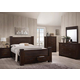Acme Panang 4pc Poster Bed w/ Storage in Mahogany