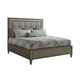 Lexington Ariana St. Tropez California King Upholstered Panel Bed in Platinum 732-135C