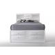 Acme Ireland Queen PU Storage Bed in White 21700Q