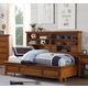 Acme Lacey Full Storage DayBed in Cherry Oak 30555F