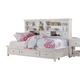 Acme Lacey Full Storage DayBed in White 30595F