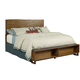 Kincaid Traverse Craftsman Live Edge California King Storage Bed in Maple 660-310P CODE:UNIV20 for 20% Off