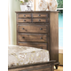 New Classic Furniture Fallbrook Chest in Weathered Brown 00-446-070