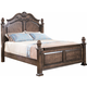 New Classic Furniture Larissa Queen Bed in Weathered Brown 00-414-300