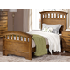 New Classic Furniture Solana Twin Arch Bed in Cocoa