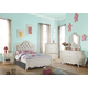 Acme Edalene 4pc Upholstered Bedroom Set in White