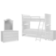 Legacy Classic Kids Summerset 4pc Bunk Bedroom Set in Ivory