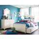 Legacy Classic Kids Summerset 4pc Low Poster with Trundle Bedroom Set in Ivory