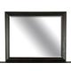 Magnussen Furniture Bellamy Landscape Mirror in Peppercorn B2491-40