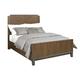 American Drew AD Modern Synergy Chevron Walnut Queen Bed 700-312R