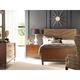 American Drew AD Modern Synergy 4-Piece Chevron Maple Bedroom Set