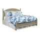 American Drew Litchfield Queen Currituck Low Post Bed in Driftwood