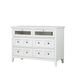 Magnussen Furniture Heron Cove Media Chest in Chalk White B4400-36