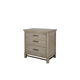 Magnussen Furniture Leyton Park Drawer Nightstand in Weathered Sand B4560-01