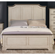 New Classic Furniture Avalon Cove King Bed in Alabaster