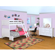 New Classic Furniture Tamarack 4-Piece Bunk Bedroom Set in White