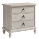 Paula Deen Home Cottage 3 Drawer Nightstand in Bluff 795350 CODE:UNIV20 for 20% Off