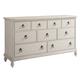Paula Deen Home Cottage 7 Drawer Dresser in Bluff 795040 CODE:UNIV20 for 20% Off