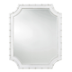 Paula Deen Home Cottage Bamboo Mirror in White 795A05M CODE:UNIV20 for 20% Off