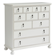 Paula Deen Home Cottage 6 Drawer Chest in White 795A155 CODE:UNIV20 for 20% Off