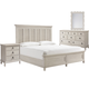 Paula Deen Home Cottage 4pc Panel Bedroom Set in Bluff CODE:UNIV20 for 20% Off