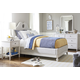 Universal Smartstuff Serendipity 4pc Upholstered Bedroom Set in Alabaster CODE:UNIV20 for 20% Off