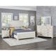 Vaughan-Bassett Timber Creek 4-Piece Timber Bedroom Set in White