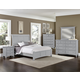 Vaughan-Bassett Bonanza 4pcs Sleigh Bedroom Set in Gray